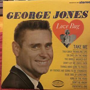 """Vintage George Jones """"Love Bug"""" Vinyl"""