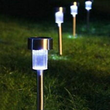 Set of 5 Solar Powered Rechargeable LED Lawn Garden Light Lamp Waterproof