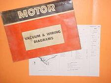 1967 1968 1969 1970 1971 CHEVROLET CORVETTE STINGRAY VACUUM+WIRING DIAGRAMS