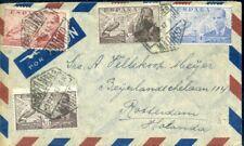 426130) Spanien Luftpost mit Flugpostmarken La Cierva 1947 i.d. Schweiz