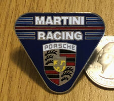 Porsche Martini Racing Large Cloisonné Pin