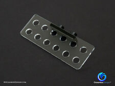 MAGNETIC MINI CORAL FRAG RACKS DUO (CLEAR) - 12 FRAGS - Oceanbox Designs™