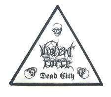 VIOLENT FORCE official Patch DEAD CITY Triangle Shape Aufnäher Thrash Velbert 86