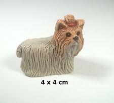 chien miniature en céramique ,collection, vitrine, hondje, dog   G-chiens-W17