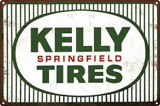 Kelly Springfield Tires Auto Man Cave Garage Shop Sign 12x12 60697