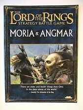 MORIA & ANGMAR, LORD OF THE RINGS STRATEGY BATTLE GAME, GAMES WORKSHOP,WARHAMMER