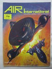 AIR INTERNATIONAL 10/74 BLACKBIRD OTTER PERUVIAN ALPHA JET MEA LEBANON FOKKER G1