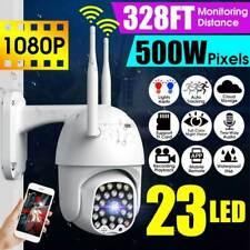 1080P 23 Led Wireless Wifi Ip Cctv Security Camera Outdoor Hd Home Ptz Ir Cam Us