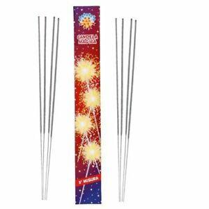 CANDELE CANDELINE ELETTRICHE 37 cm STELLINE SCINTILLANTI 10 50 100 PEZZI