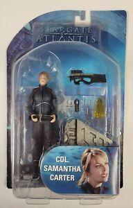 Stargate Atlantis Series 3 Samantha Carter Action Figure [Colonel] MOC