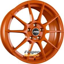 4x AUTEC WIZARD (W) Orange 8x18 ET35 4x100 ML70.0