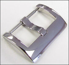 24mm Panatime Polished Square Watch Buckle - Spring Bar Attachment