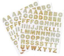 Mrs Grossman's SCRAP Metal Rusty Door ABC Alphabet Scrapbook Stickers 3 Sheets!