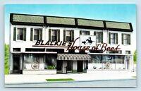 Washington, DC - BLACKIES HOUSE OF BEEF RESTAURANT DINER STEAKHOUSE POSTCARD K2