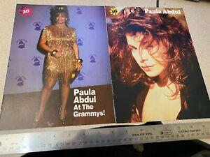 Paula Abdul - magazine clippings cuttings photos