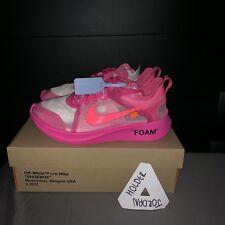 Nike X Bianco Sporco Zoom Fly Virgil abloh Tulipano Rosa UK 8 cdf57aa9d49