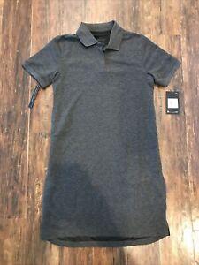 Nike Womens Dress #AJ5690-010 Dark Gray/Black Womens Size XS X-SMALL $80 NEW