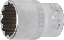 BGS 10641 Steckschlüssel-Einsatz, 12-Kant, 12,5 (1/2), 21 mm