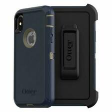 OTTERBOX Defender Series Screenless Edition Case (77-59466) for Apple iPhone X/Xs - Dark Lake Blue