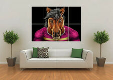 BRISBANE BRONCOS INSPIRED RUGBY NRL MASCOT GIANT WALL ART POSTER PRINT