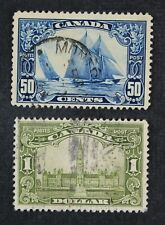 CKStamps: Canada Stamps Collection Scott#158 159 Used