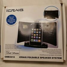 Icraig Stereo System For Ipod Iphone Mp3 Player Audio Docks Mini Speaker