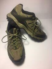 Skechers Afterburn Memory Foam Men's Running Shoes Khaki/Brown SIze 9 SN50125