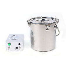 New Listingelectric Sheep Goat Milking Machine Portable 5l Stainless Plugin Milking Pump Us