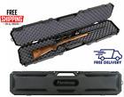 NEW Rifle Shotgun Hard Carry Case Single Gun Storage Box Padded Tactical Hunting