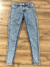 The Jegging Mid-Rise, Size 2, Acid Wash Look