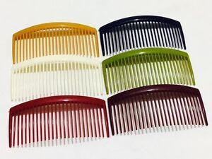 Hair Combs Hair Slides Hair Comb Plastic (24 teeth) Pack of 4 * 9 cm Long