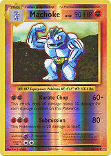 Machoke Uncommon Reverse Holo Pokemon Card XY12 Evolutions 58/108