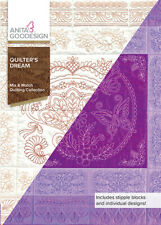 Quilter's Dream Anita Goodesign Embroidery Machine Design Cd New