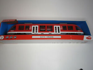 Dickie Toys City Train Stadtbahn Regionalbahn Zug Eisenbahn Spielzeug 1:43