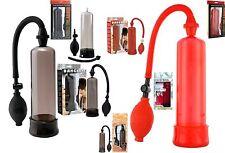 Vakuum Pumpe Potenzpumpe Penispumpe 7te Power Enlarger Rot oder Schwarz