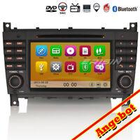 Autoradio GPS 3G Canbus DTV-IN Navi CD BT SD Für Mercedes C/CLK-Class W203 W209
