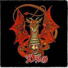 Dio - Dragon - printed patch - FREE SHIPPING