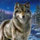 DIY Diamond Painting 5D Wolf Animals Full Drill Embroidery Cross Stitch Arts