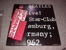 BEATLES Live at the Star Club Hamburg Allemagne 1962 JAPAN VINYL LP album record