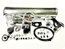 15Litre Onboard Airbag Suspension Control kit, w/ Air Tank, Compressor &  Valves