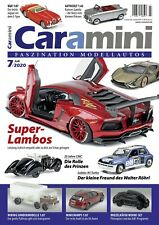 Modellauto-Zeitschrift Caramini July 7/2020: 100 Pages Fascination Model Cars