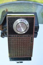 RCA VICTOR AM Transistor Radio Model 4RG51 with CIVIL DEFENSE DIAL ''Works''