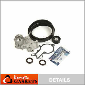 Timing Belt Water Pump Kit Fits 89-95 Suzuki Sidekick Geo Tracker 1.6 SOHC G16KC
