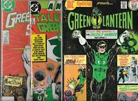 GREEN LANTERN LOT OF 3 DC SPECIAL #20, THE GL SPECIAL, TALES O-T GL CORPS ANN #3