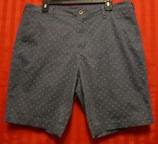 Men's Aeropostale Cotton/Spandex Bermuda Shorts Gray Size 34 NWOT