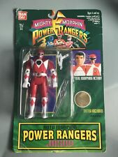 Might Morphin Power Rangers Auto Morphin Jason Red Ranger Bandai