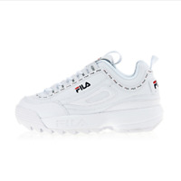 [FILA] Disruptor 2 Tapey Tape Trainers Chunky Shoes Sneakers- White(FS1HTB1091X)