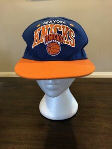 New York Knicks Mitchell And Ness Hardwood Classics Adjustable SnapBack Hat