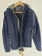 Beyond Clothing Men's A3 Alpha Lochi Reversible Jacket Navy/Gray 2XLL New
