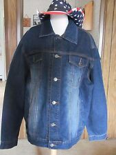 Roper Men's Jean Jacket Brand New with Tags 100% Cotton  Machine Wash & Dry Size